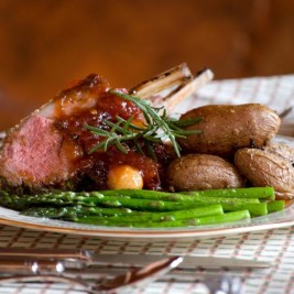 Best Recipe for Lamb Chops - Lamp Chops with Jus Vedgetables